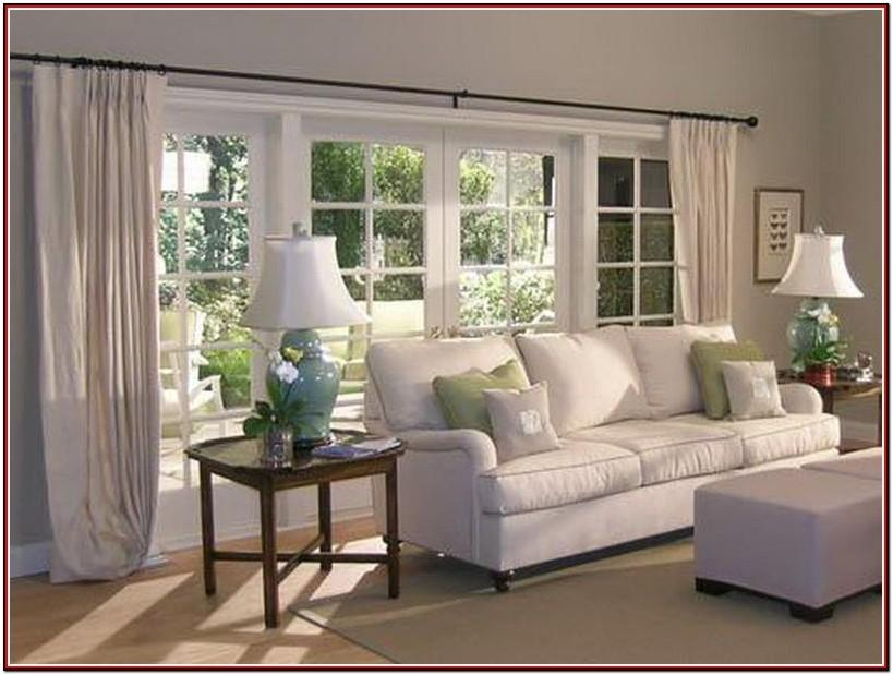 Curtains For Large Living Room Windows