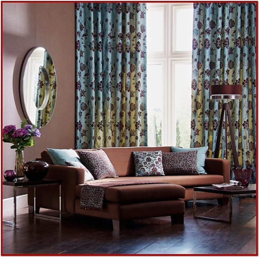Curtains For Living Room With Dark Brown Furniture