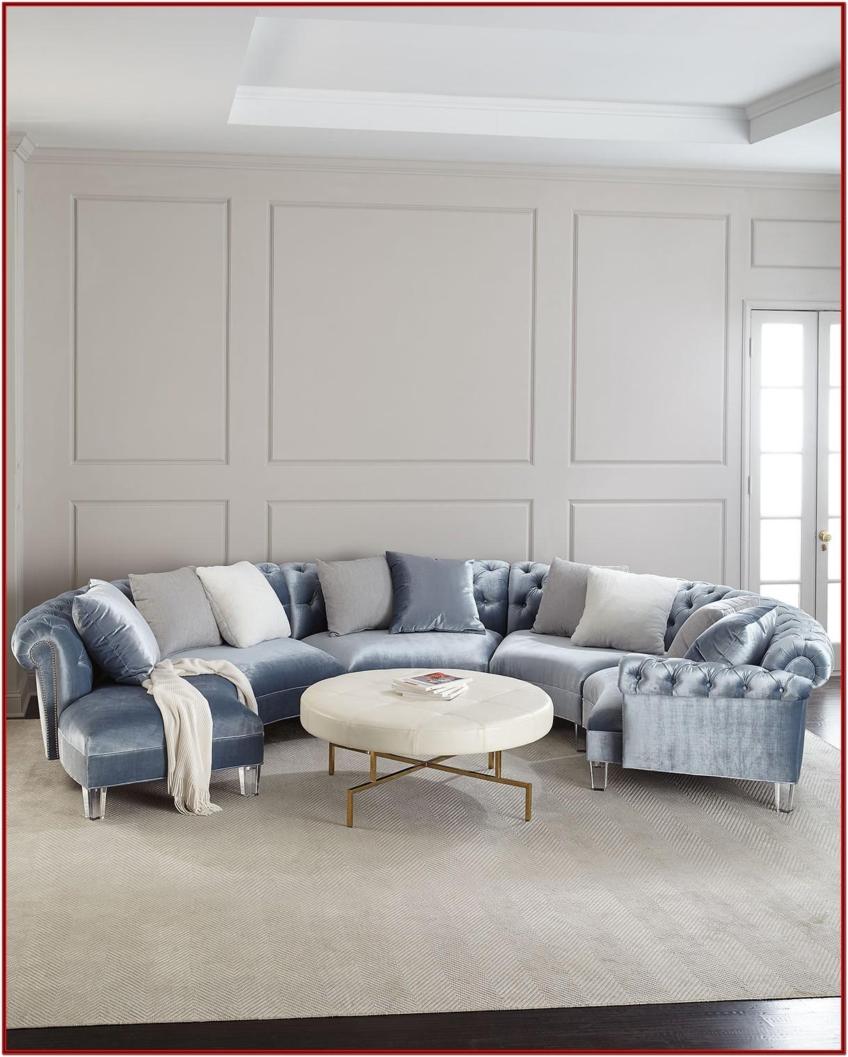 Curved Living Room Furniture
