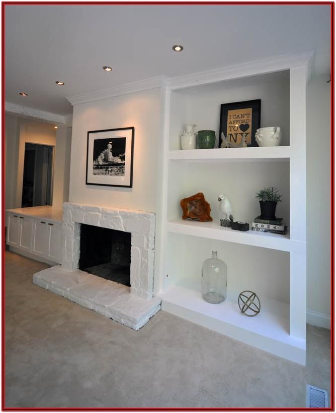 Custom Shelves For Living Room