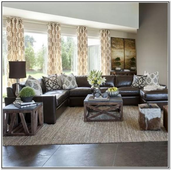 Dark Brown Curtains For Living Room