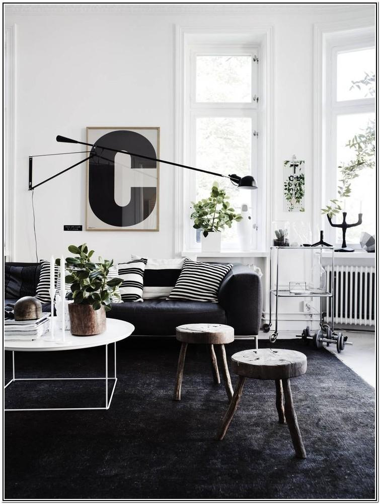 Dark Gray Carpet Living Room