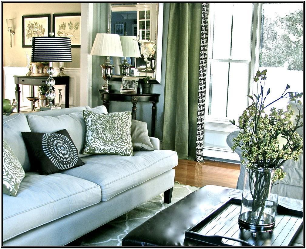 Dark Green Furniture Living Room