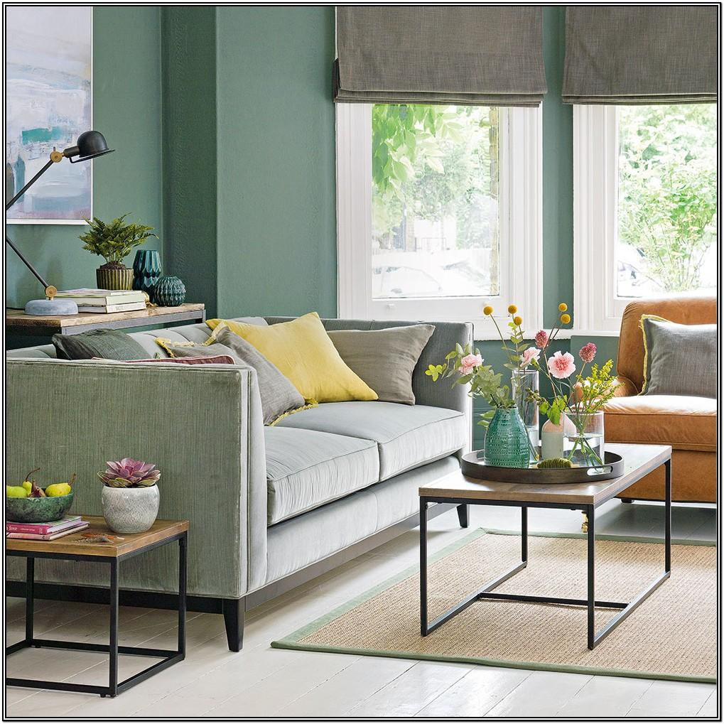 Dark Green Green Couch Living Room Ideas