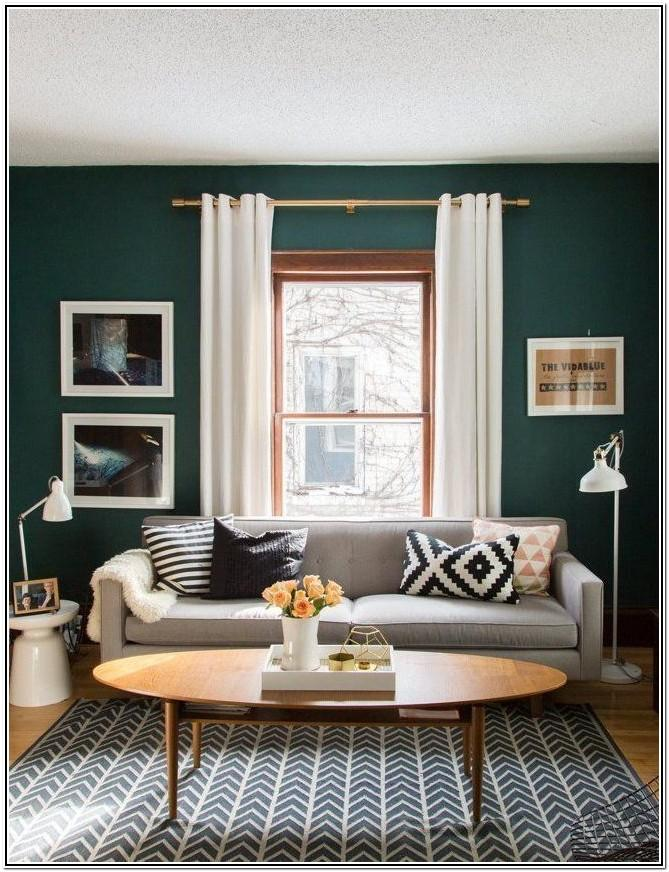 Dark Green Paint Colors For Living Room