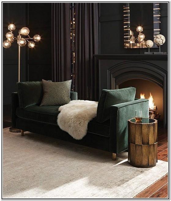 Dark Green Sofa Living Room Ideas