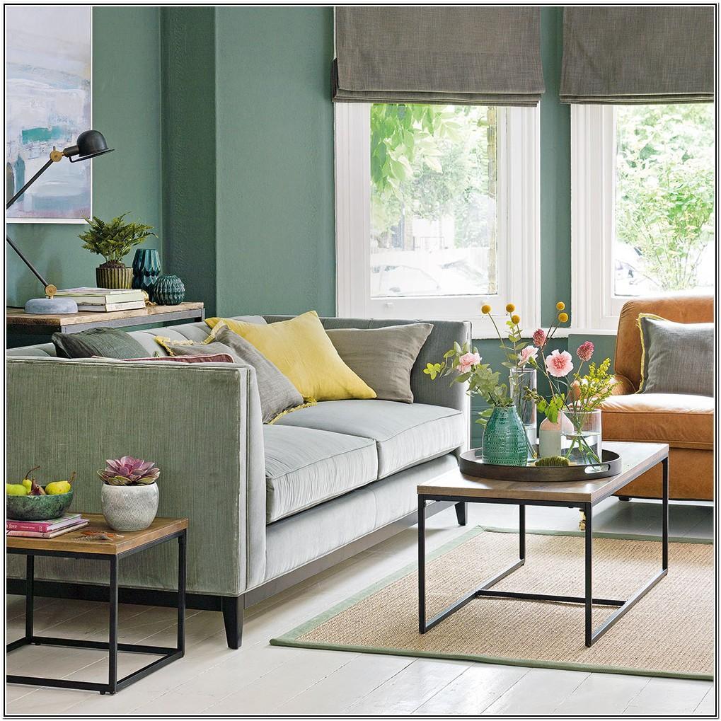 Dark Green Sofa Living Room