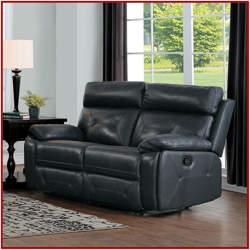 Dark Grey Reclining Living Room Set