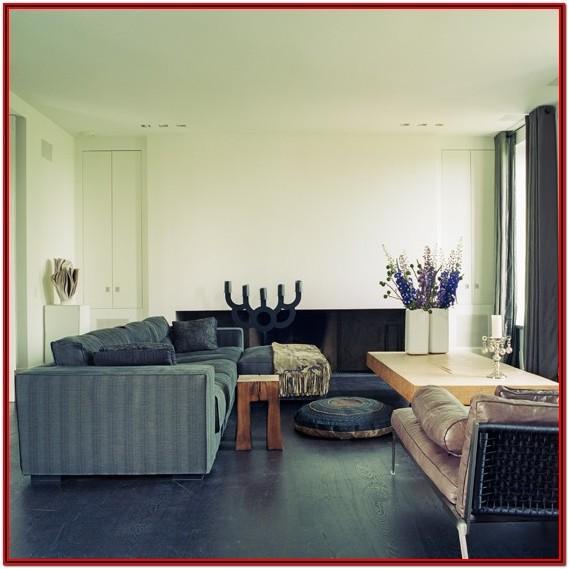 Dark Hardwood Living Room Ideas