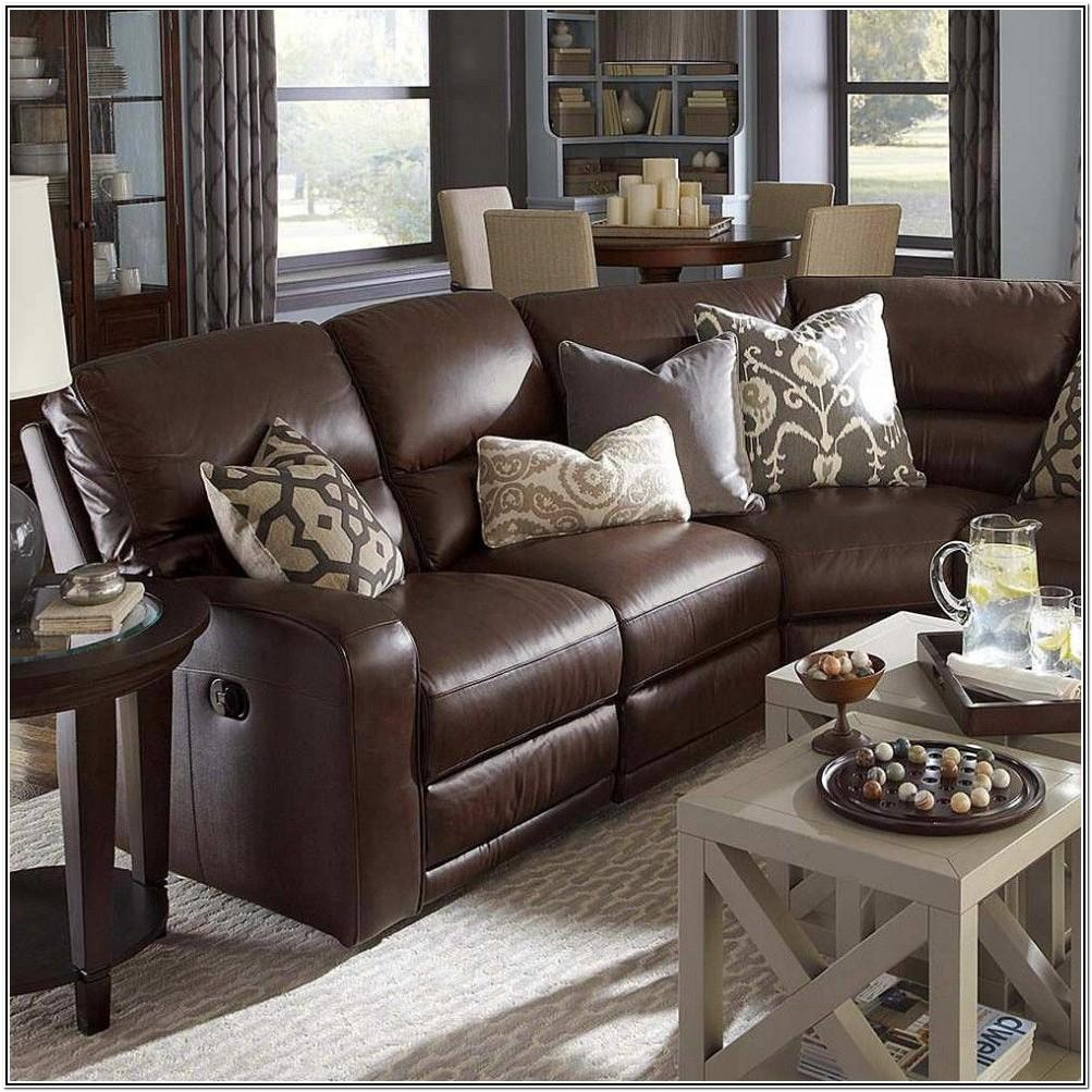 Dark Leather Couch Living Room Ideas