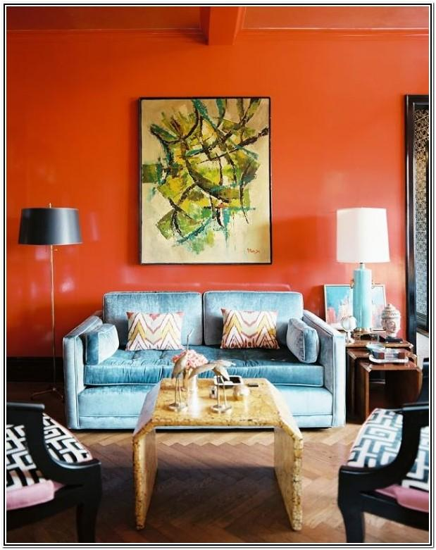 Dark Red Paint Colors For Living Room