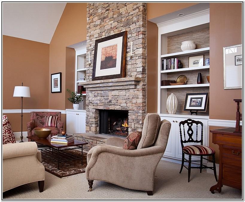Decor For Shelves In Living Room