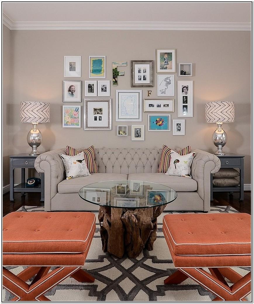Decorating A Big Living Room Wall