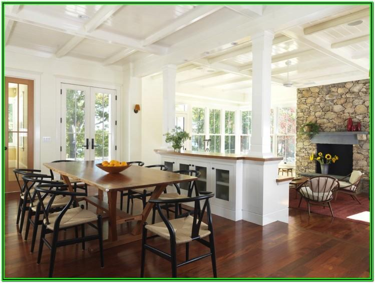 Dining Room Living Room And Kitchen Divider Ideas