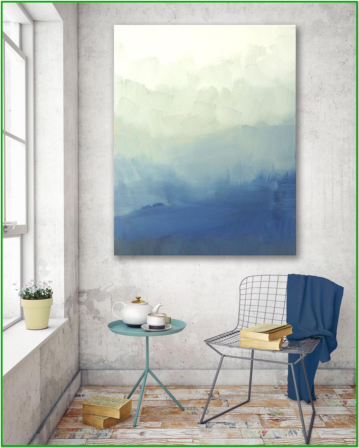 Diy Abstract Painting For Living Room