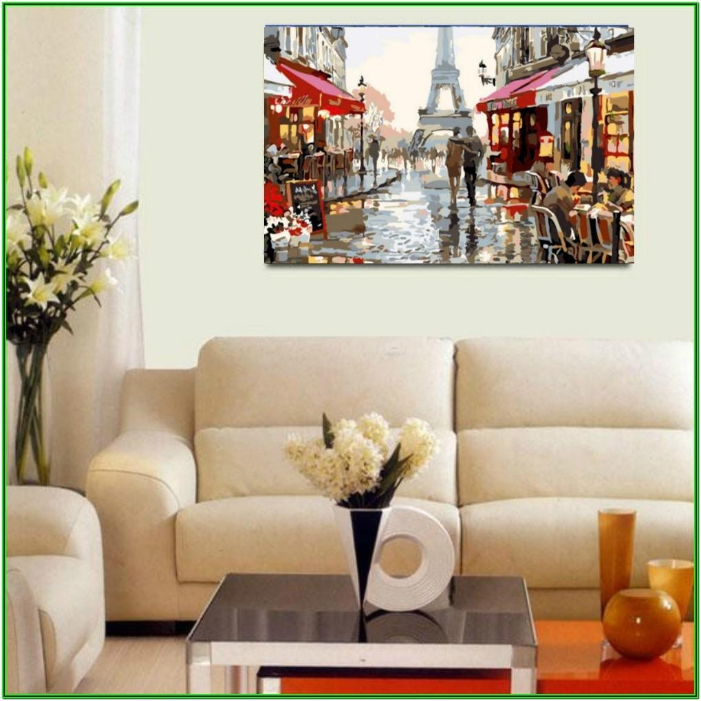Diy Canvas Painting For Living Room