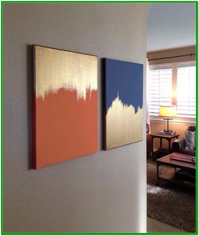 Diy Living Room Canvas Painting Ideas