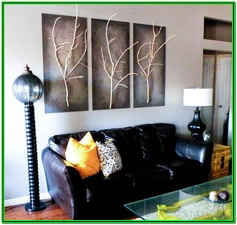 Diy Wall Paintings For Living Room