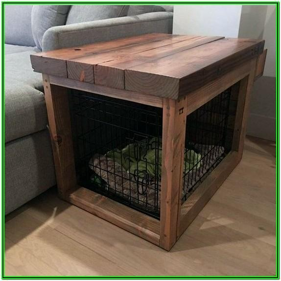 Dog Crate In Living Room