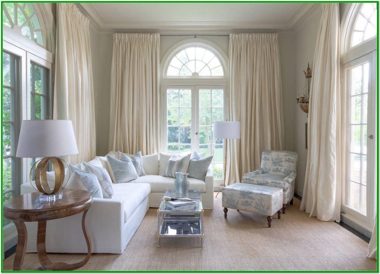 Drapery Ideas For Living Room Windows
