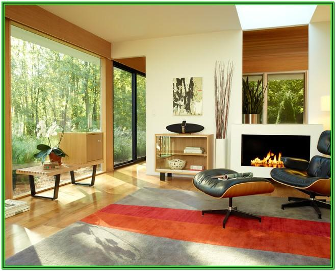Eames Lounge Chair Living Room