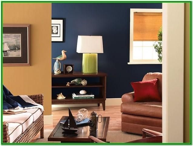 Earth Tone Living Room Two Tone Painting Ideas