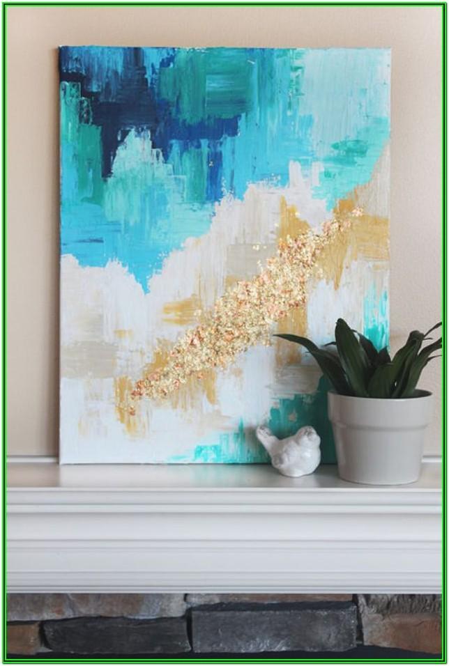 Easy Diy Paintings For Living Room