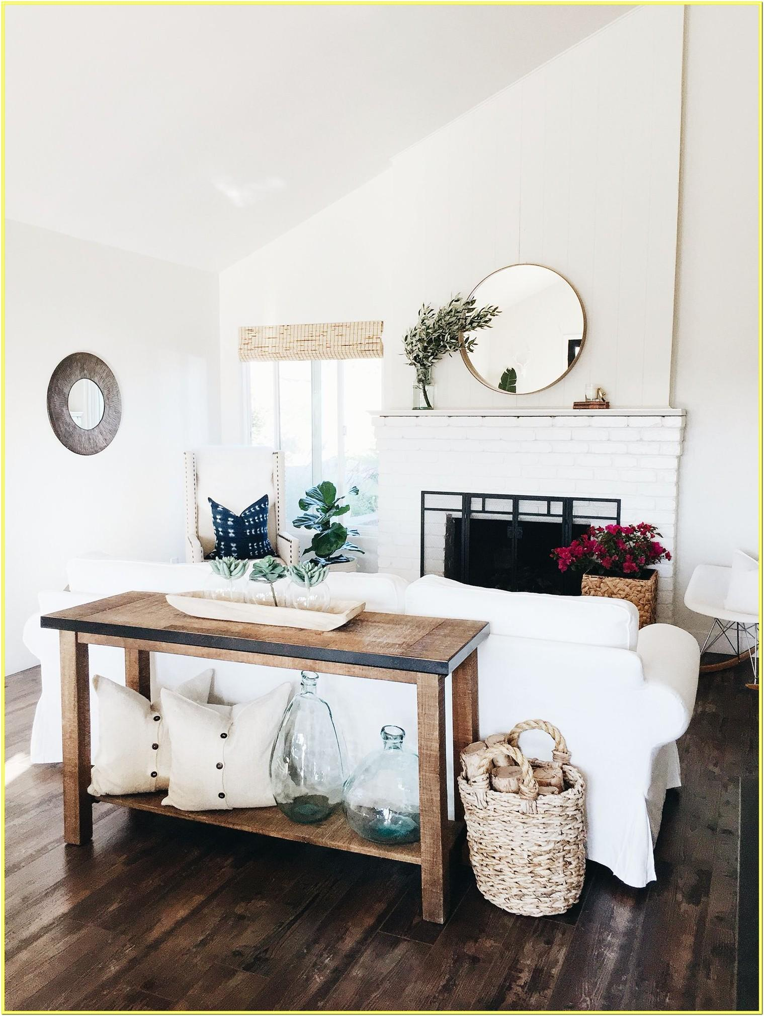 Elegant Console Table Designs For Living Room