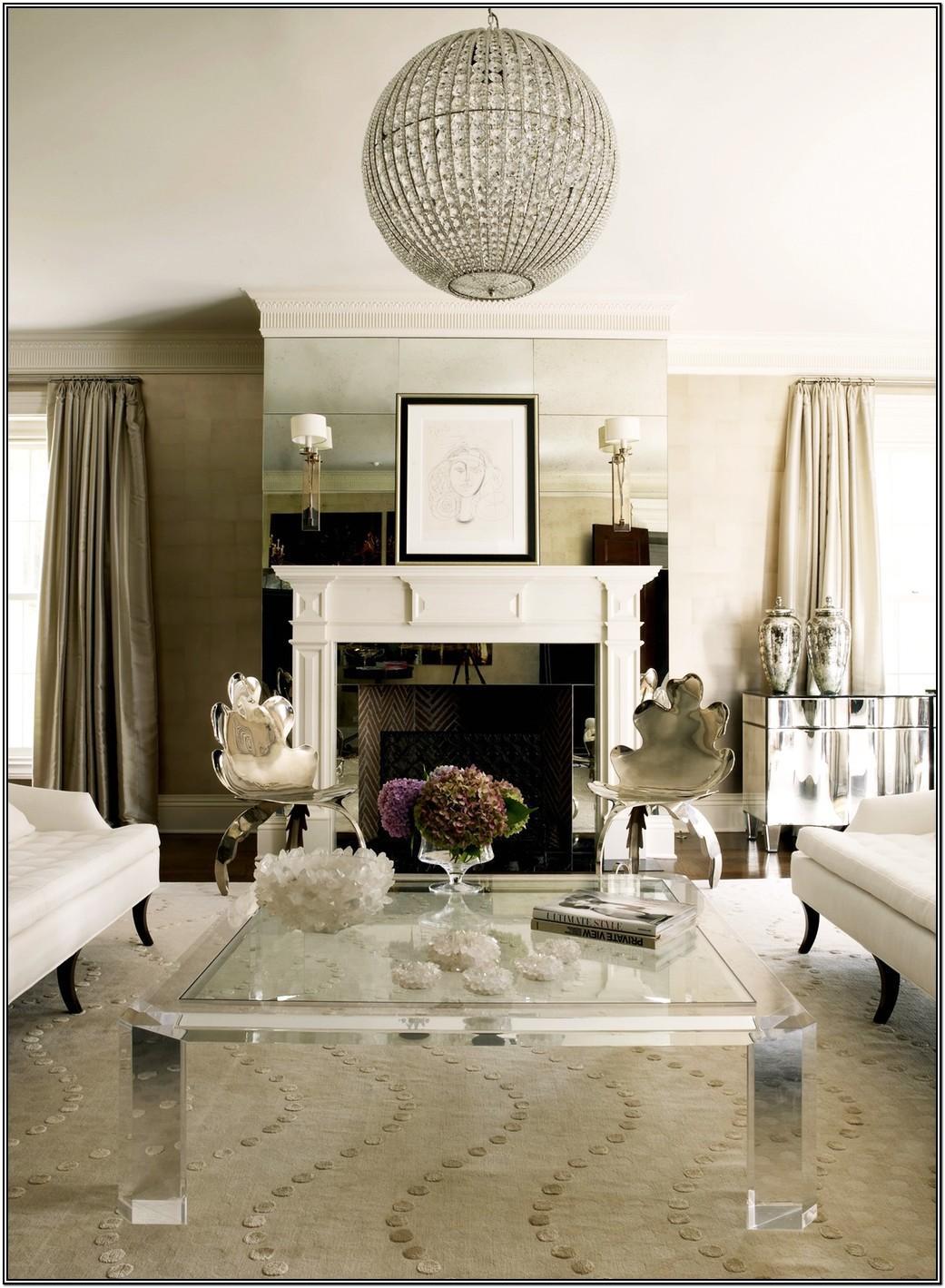 Elegant Glamorous Glam Living Room Decor