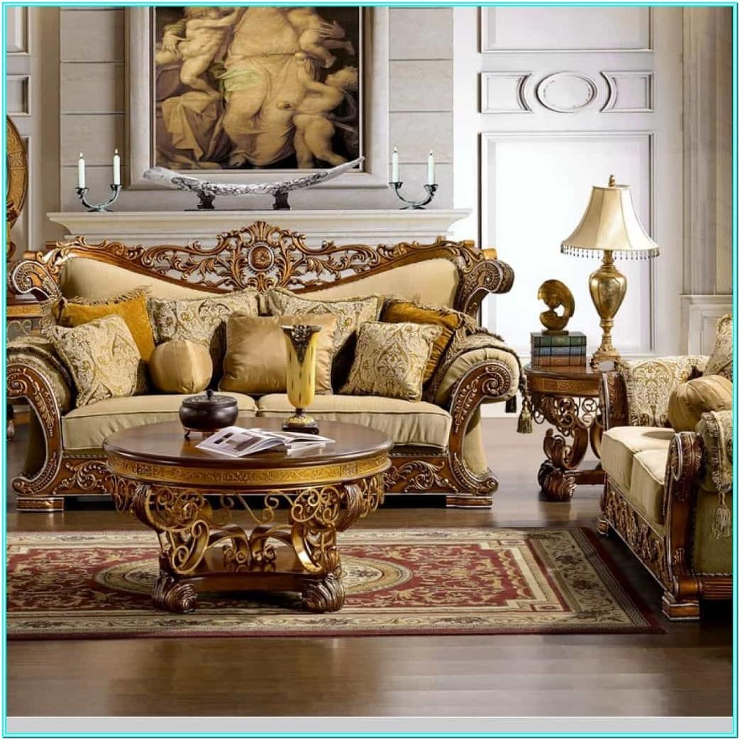 Elegant Luxury Living Room Furniture