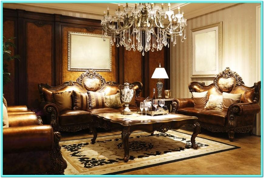Elegant White Living Room Furniture