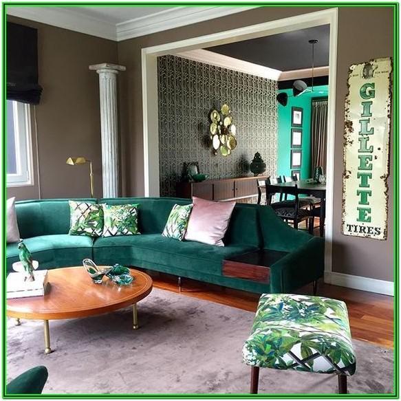 Emerald Green Sofa Living Room