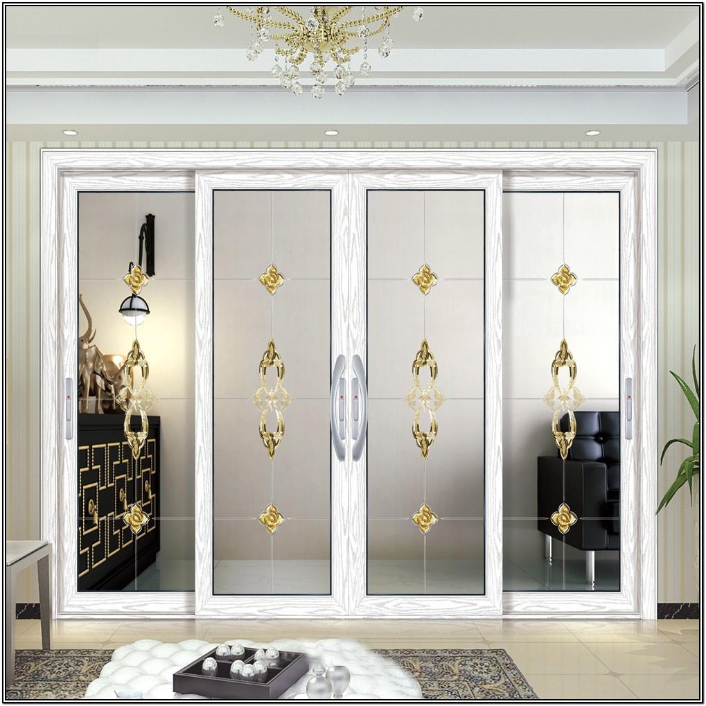 Entrance Glass Sliding Door Designs For Living Room