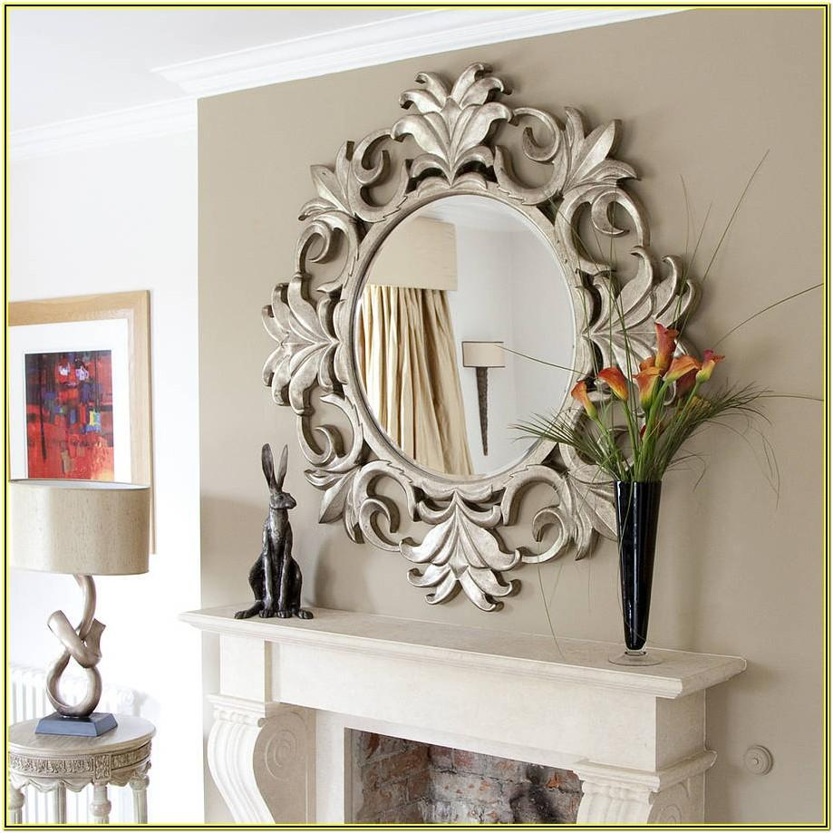 Fancy Decorative Mirrors For Living Room