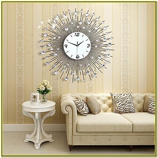 Fancy Wall Clocks For Living Room