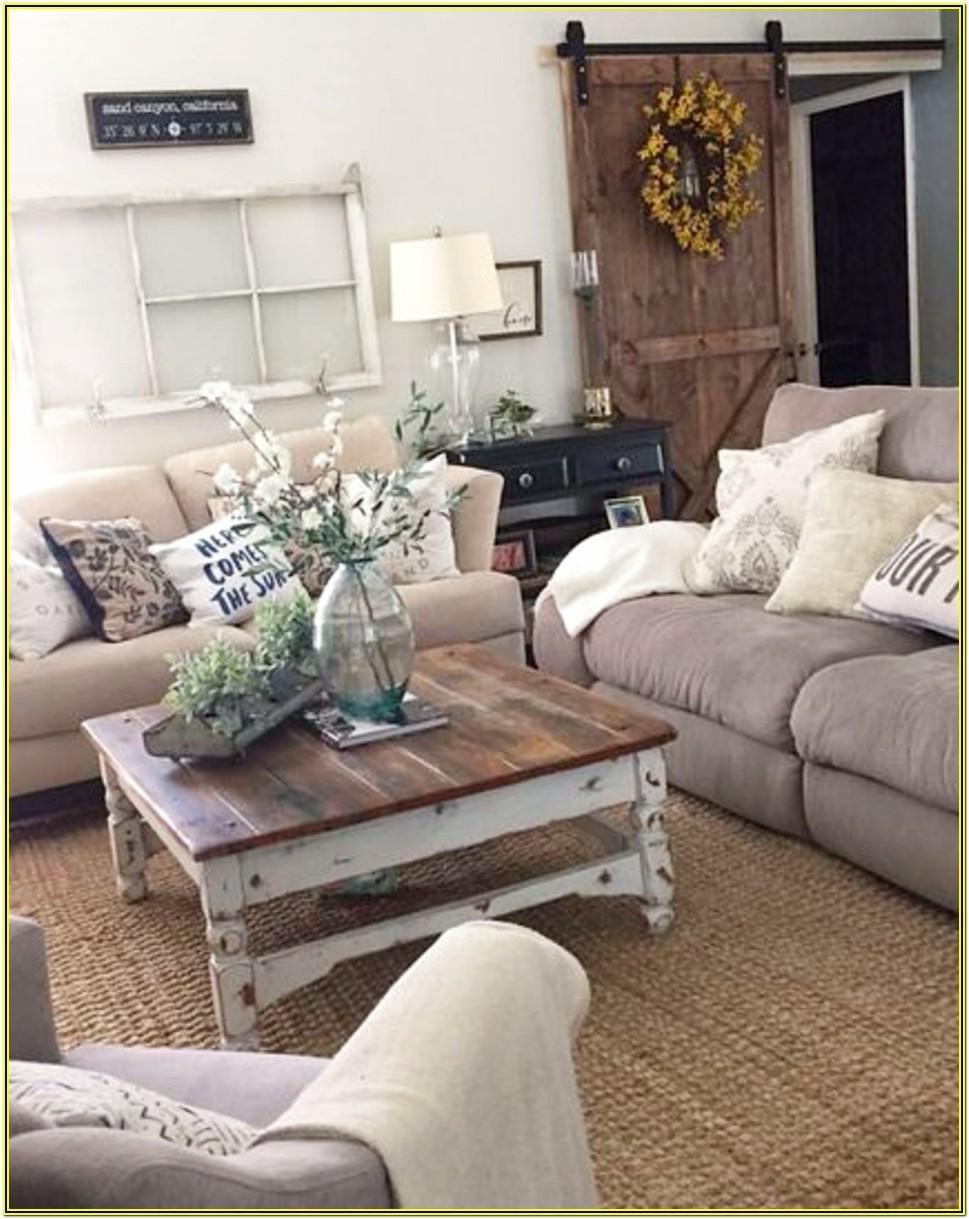Farm Style Living Room Decor Ideas
