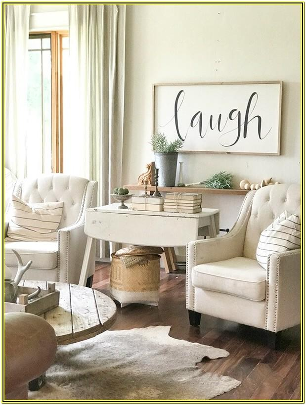 Farm Style Living Room Decor