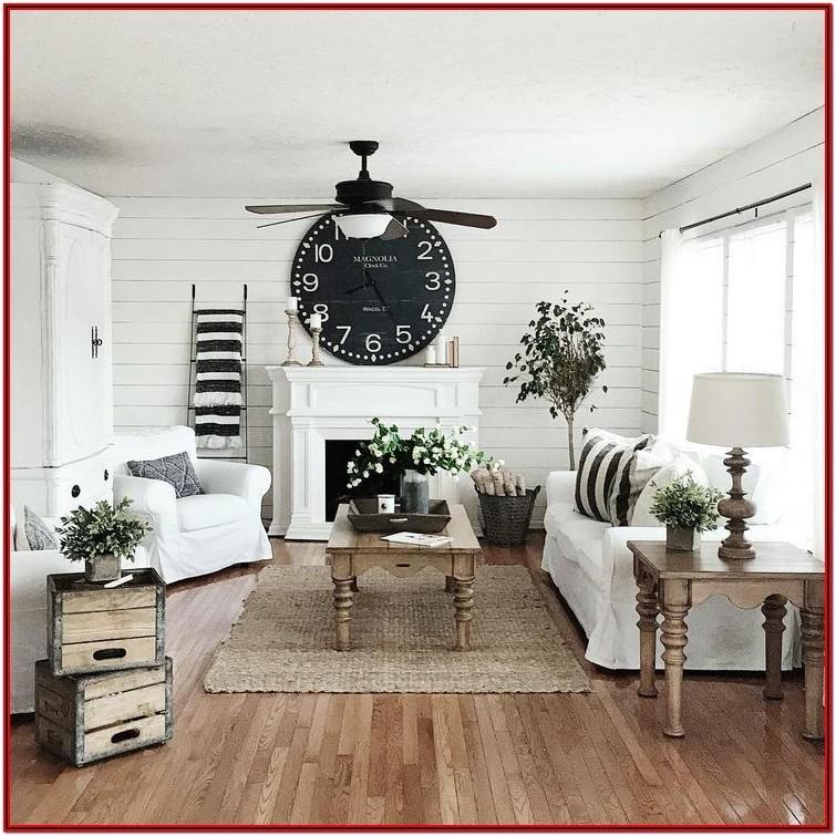 Farmhouse Cottage Living Room Decor