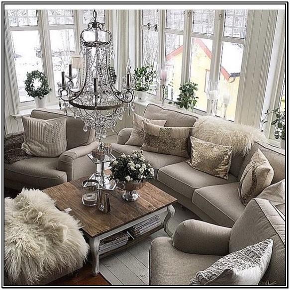 Farmhouse Glam Living Room Decor