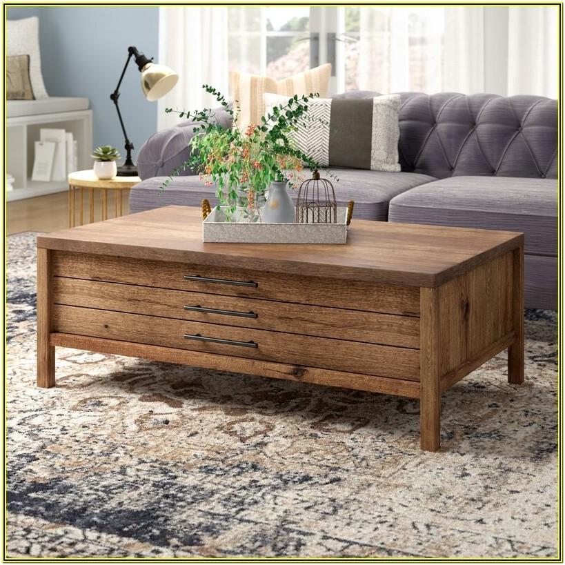 Farmhouse Living Room Coffee Table Set