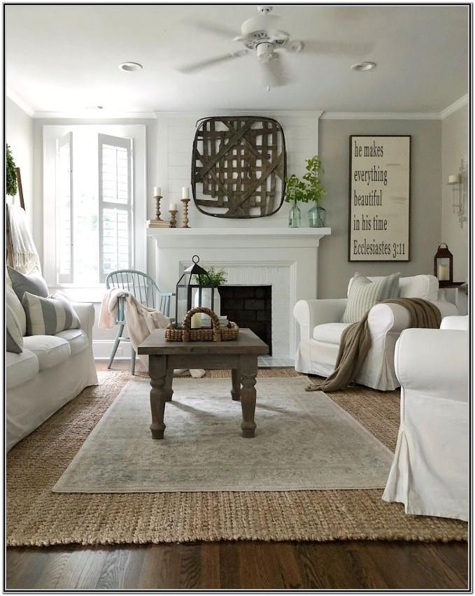 Farmhouse Paint Colors For Living Room