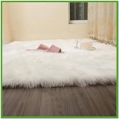 Faux Fur Rug Living Room