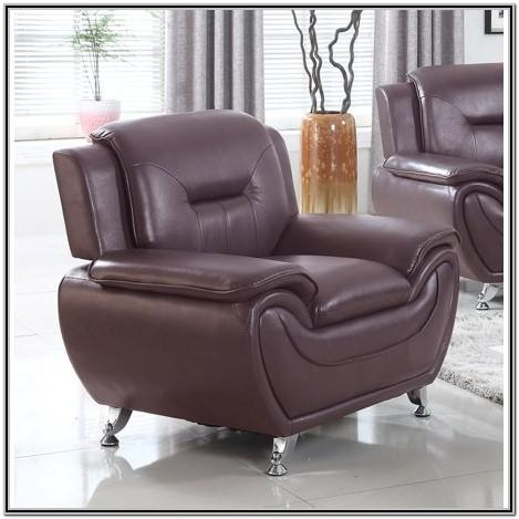 Faux Leather Living Room Chairs