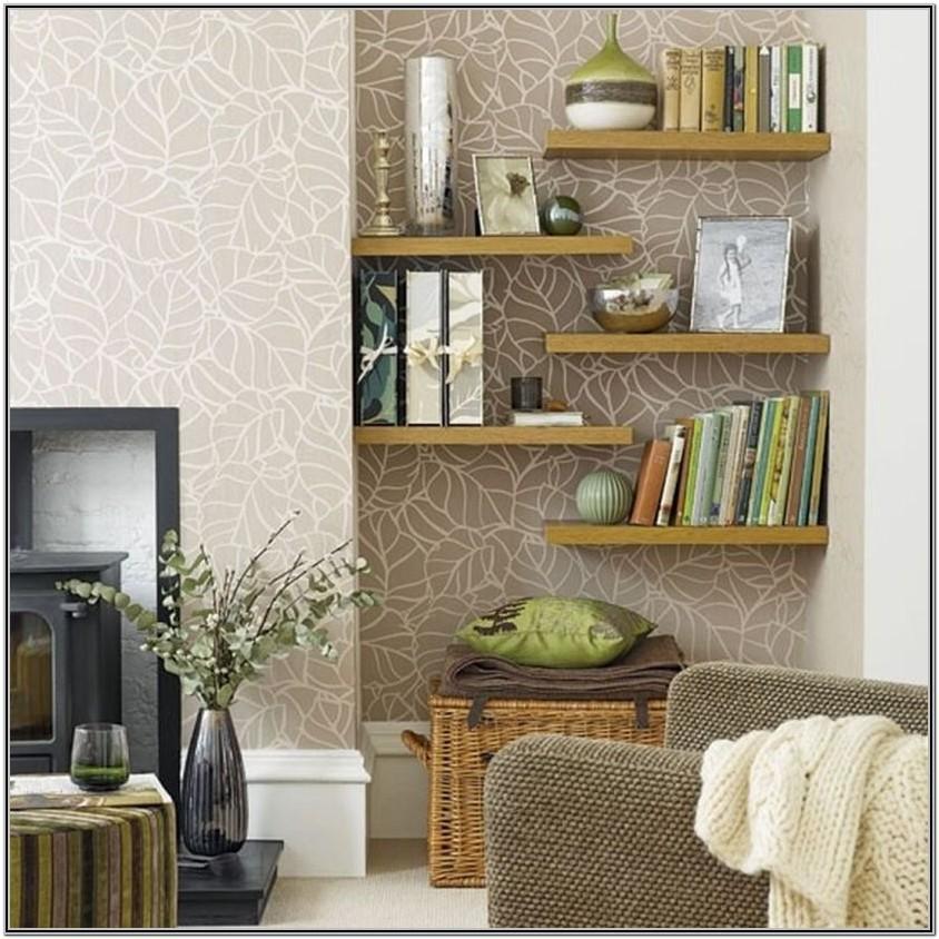 Floating Shelves For Living Room Wall