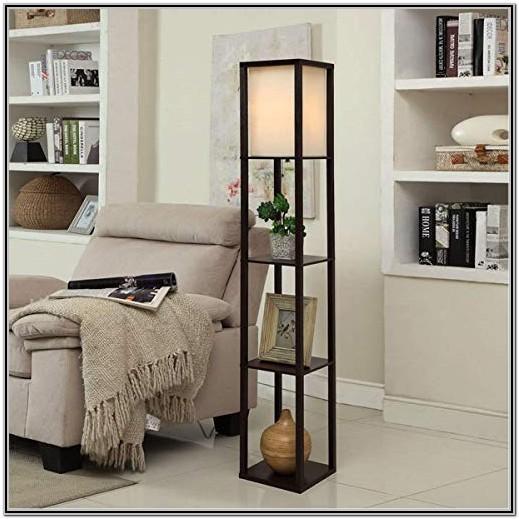 Floor Shelves For Living Room