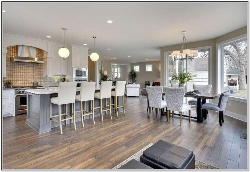 Flooring Ideas For Open Plan Kitchen Living Room