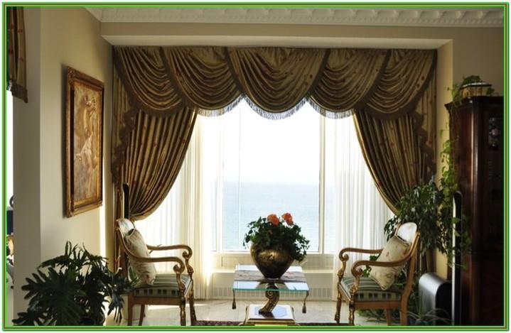 Formal Living Room Window Treatments