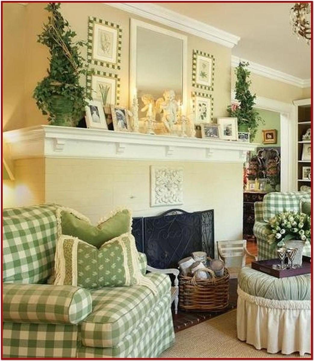 French Cottage Living Room Decor