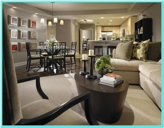 Furniture Layout Living Room Dining Room Combo