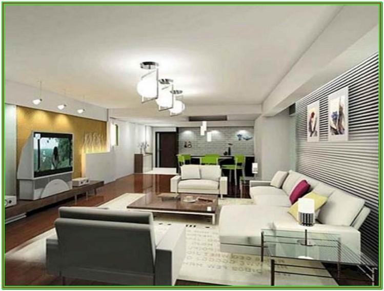 Furniture Placement In A Rectangular Living Room